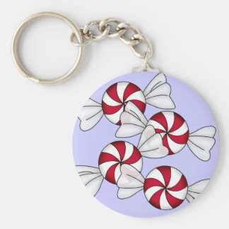 Peppermint Candies Keychains