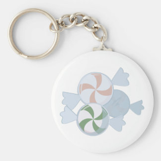 Peppermint Candies Keychain