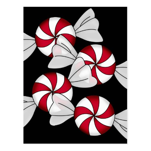 Peppermint Candies Post Card