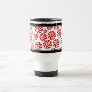 Peppermint Candy Background Coffee Mugs