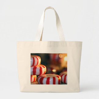 Peppermint Candy Canvas Bag