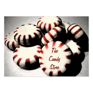 Peppermint Candy Business Card