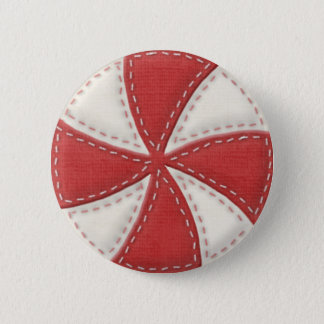Peppermint Candy Button