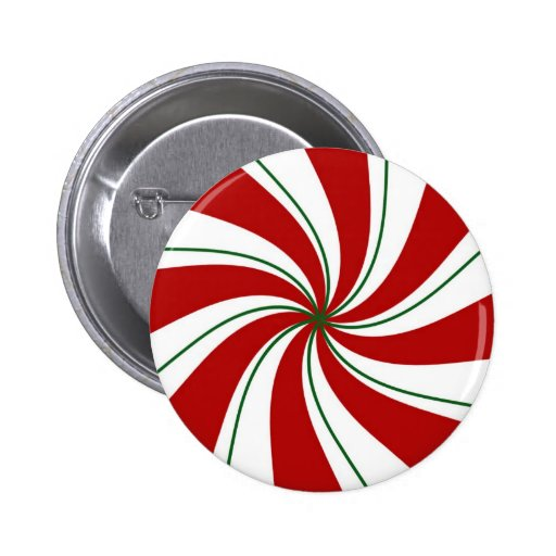 Peppermint Candy - button