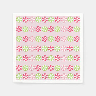 Peppermint Candy Disposable Napkin