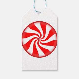 Peppermint Candy Gift Tags