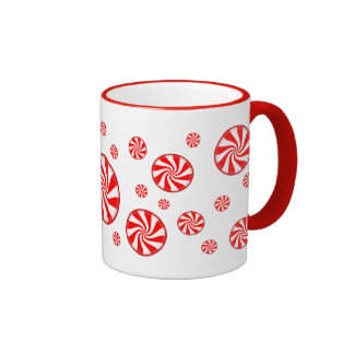 Peppermint Candy Holiday Coffee Mug