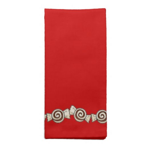 Peppermint Candy Cloth Napkin