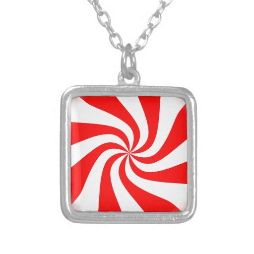 Peppermint Candy Necklace