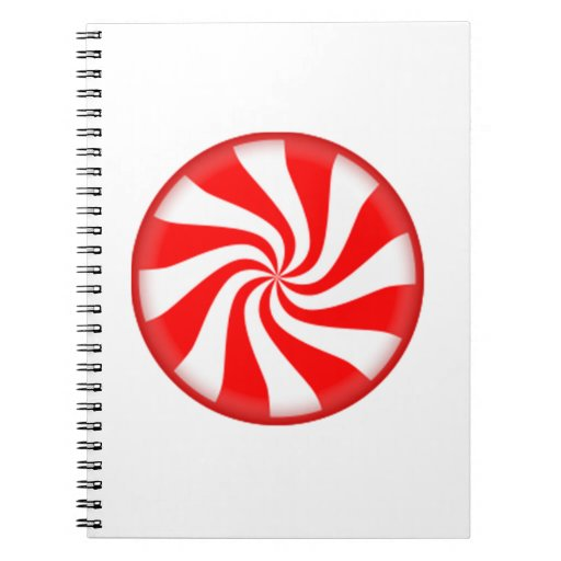 Peppermint Candy Notebook