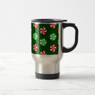 Peppermint Candy polka dots Coffee Mugs