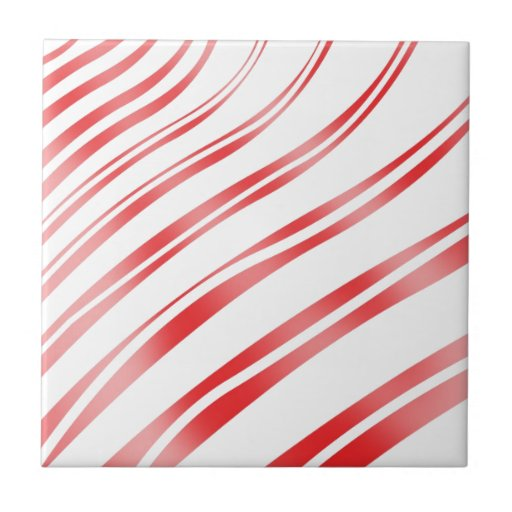 Peppermint Candy Stripe Tiles