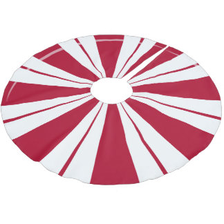 Peppermint Candy Stripes Tree Skirt