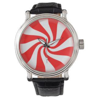 Peppermint Candy Swirl Watch
