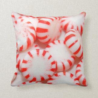 Peppermint Candy Throw Cushion