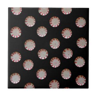 Peppermint Candy Tile Trivet