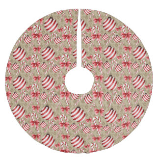 Peppermint Candy Tree Skirt