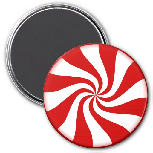 PEPPERMINT CANDY v.2 ~ Fridge Magnet