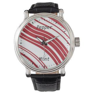 Peppermint Candy watch design