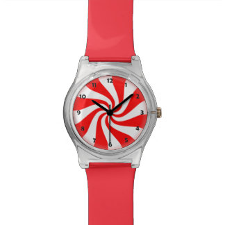 Peppermint Candy Watch with numbers
