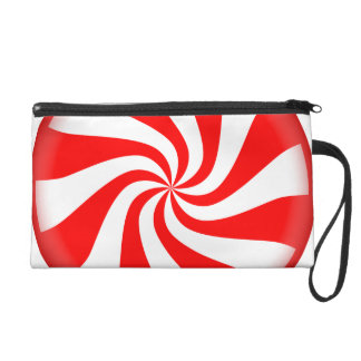 Peppermint Candy Wristlet