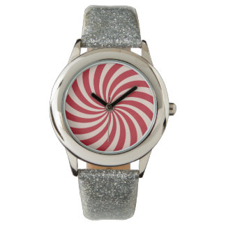 Peppermint Candy Wristwatch