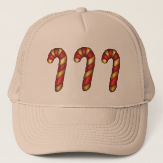 Peppermint Christmas Cookie Candy Cane Baking Xmas Trucker Hat