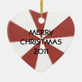 Peppermint Christmas Ornament 2011