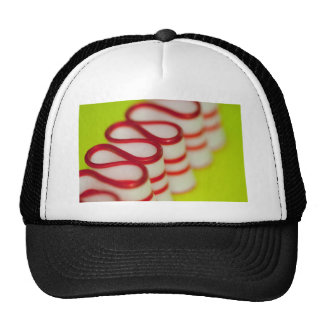 Peppermint Christmas Ribbon Candy Trucker Hats