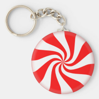 Peppermint Keychain