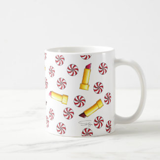 Peppermint Kisses Coffee Mug