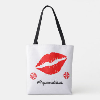 Peppermint Kisses Tote