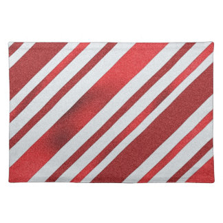 Peppermint Pattern Holiday Place Mat