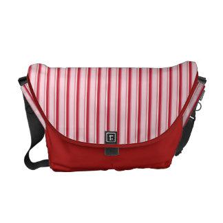 Peppermint stripes Rickshaw messenger bag
