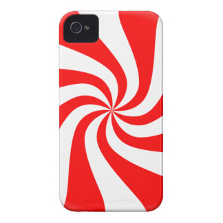 peppermint swirl candy iPhone 4 Case-Mate cases