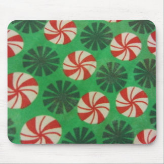 Peppermint Swirl Candy Mouse Pad