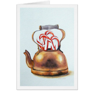 """ PEPPERMINT TEA "" CARD"