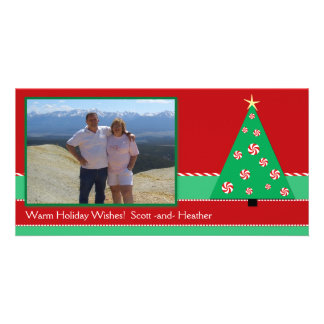 Peppermint Tree Photo Card