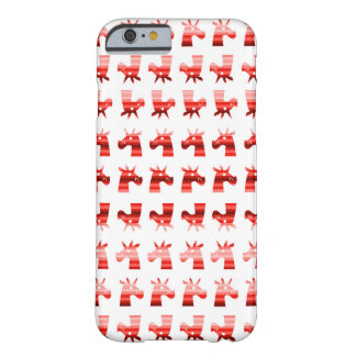 Peppermint Unicorns Barely There iPhone 6 Case