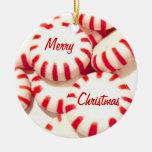 Peppermints Ornaments