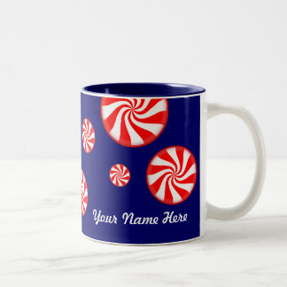 Peppermints Personalised Christmas Mug