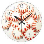 Peppermints Wall Clocks