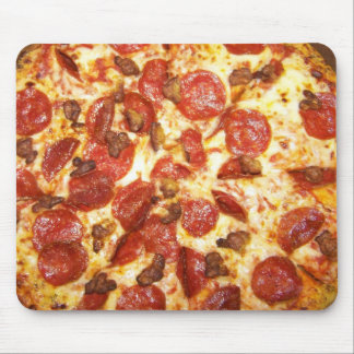 Pepperoni and Sausage Pizza Lover Mouse Pad