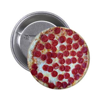 Pepperoni Pizza 6 Cm Round Badge
