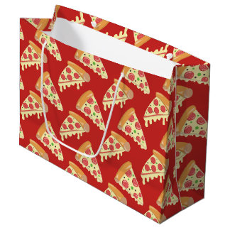 Pepperoni Pizza Party Large Gift Bag