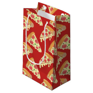 Pepperoni Pizza Party Small Gift Bag