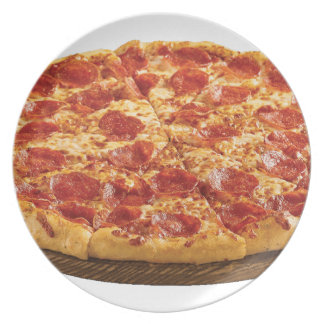 Pepperoni Pizza Plate