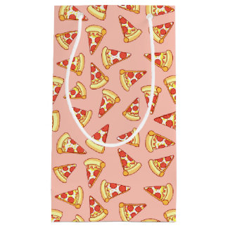 Pepperoni Pizza Slice Drawing Pattern Gift Bag
