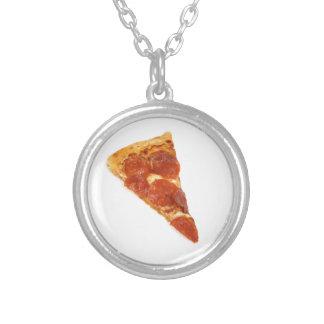 Pepperoni Pizza Slice Custom Necklace