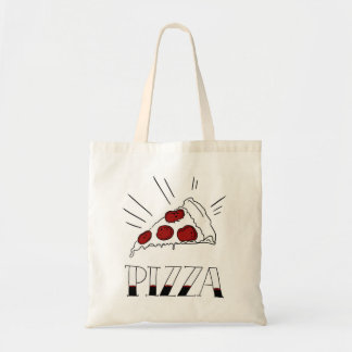 Pepperoni Pizza Tote Bag